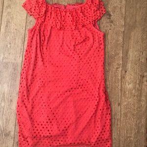 Burnt orange dress barn sleeveless dress